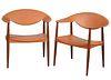 Pair of Carl Hansen & Son 'Metropolitan' Chairs