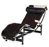 Vintage Italian Le Corbosier Lc4 Sling Seat