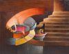 Fernando de Szyszlo 'El Innombrable' 1980 Painting