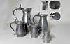Set of Five (5) Bud English Pewter Measures