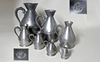 Full Set of Seven (7) Irish Haystack Pewter Measures