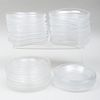 Large Group of Lalique Side Dishes