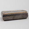 French Silver-Gilt and Niello Snuff Box