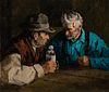 Eustace Paul Ziegler (1881–1969): The Cronies [or] Old Cronies – Alaska