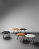 Gio Ponti (Italian, 1891-1979) Set of Five Low Tables, ISA Bergamo, Italy