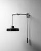 Gino Sarfatti (Italian, 1912-1985)Adjustable Wall Lamp,model 194/n, c. 1950,Arteluce, Italy