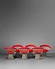 Warren Platner (American, 1919-2006) Set of Six Dining Chairs,Knoll, USA