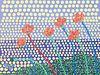 CARL VESTWEBER, MFA 13 - Untitled Poppies Diptych