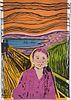 JUNE AUGUST, MFA 96 - Greta Thunberg - The Scream of Nature Magenta