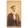 Cabinet Card of Louis Fatio, Only Known Photograph of Former Enslaved African American Involved in Dade Massacre during the Seminole Wars