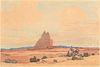 Norma Bassett-Hall, Navajo Land, 1947