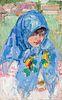 Leon Gaspard, The Blue Shawl, 1914