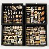 Four Shadow or Display Boxes of Shells, 19th/20th century, each box with original typed labels, sold with the book The Shell/Five Hundr