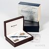 """Limited Edition Waldmann """"America's Cup"""" Rollerball Pen, no. 004/100, with inner and outer boxes."""