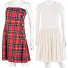 Two Moschino CheapandChic Dresses