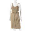 Burberry Khaki Knit Dress