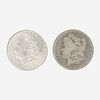 Thirty-one U.S. Morgan $1 Coins