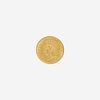 U.S. 1874 Indian Head $1 Gold Coin
