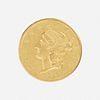U.S. 1852-O Liberty $20 Gold Coin