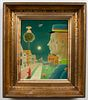 "John Wilde ""The Good Policeman III"" Oil on Canvas"