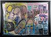 Purvis Young Folk / Outsider Art Mixed Media