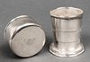 Tiffany & Co. Sterling Silver Collapsible Cup