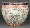 Chinese Porcelain Famille Rose Fish Bowl