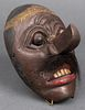 Antique Wayang Topeng Theatre Mask, Indonesia
