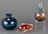 Studio Art Glass Group incl. Guzzardo, Skruf, 3