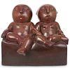 Odile Kinart (Belgian, born 1945) Figural Bronze