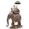 """Lladro Retired """"Road To Mandalay"""" Limited Porcelain"""