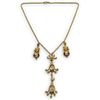 18k Gold and Diamond Chandelier Necklace
