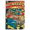 All-Negro Comics Issue #1, 1947 with Editorial by Orrin C. Evans