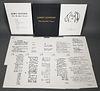 JOHN LENNON, The Beatles Years Lyrics, 12 Prints