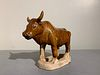 Tang Dynasty Amber Glazed Ox