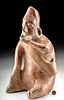 Colima Redware Seated Figure - Ex Sotheby's