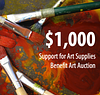 $1,000 to Support School Art Supplies