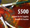 $500 to Support School Art Supplies