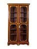 A Regence Gilt-Bronze-Mounted Palisandre Bibliotheque Height 86 x width 45 x depth 15 inches.