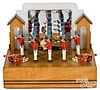 Baranger Studios animated wooden soldier display
