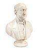 John Denton Crittendon (English, 1834-1877) Bust of Mr. George Soanes