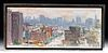 Signed W. Draper Painting of New York City, 1999