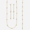 Elsa Peretti for Tiffany & Co., Suite of 'Diamonds by the Yard' jewelry