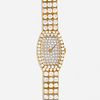 Van Cleef & Arpels, Gold and diamond wristwatch