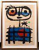 "Joan Miro ""The Sun Eater"" Lithograph, 1955"