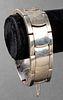 Vintage Antonio Pineda Taxco Silver Link Bracelet