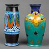 Holland Gouda Dutch Art Pottery Vases, 2