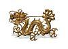 Chinese 18K Gold Dragon Brooch