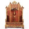 19th c. Chinese Daoist Carved & Gilt Temple Altar