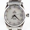 Omega Seamaster Aquaterra MOP Dial Diamond Watch
